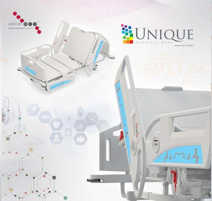 Unigue Hastane Yatakları 2 Motorlu