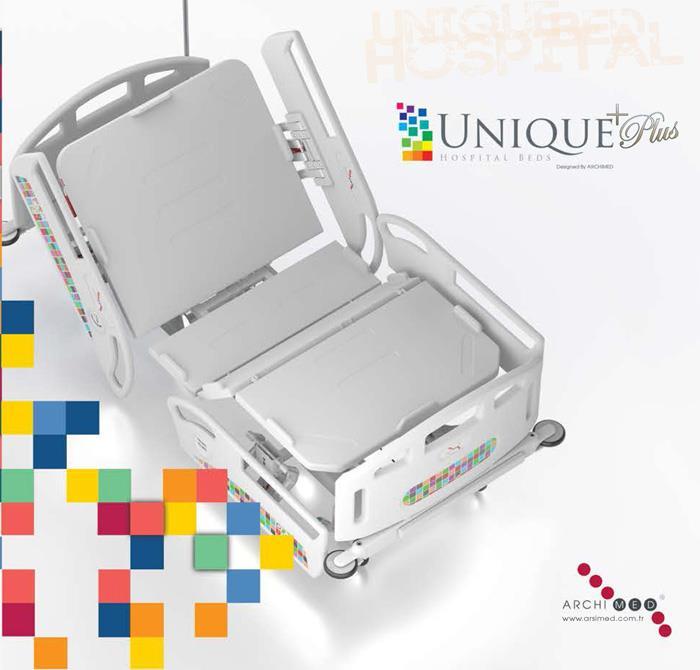 Unigue Hastane Yatakları 4 Motorlu