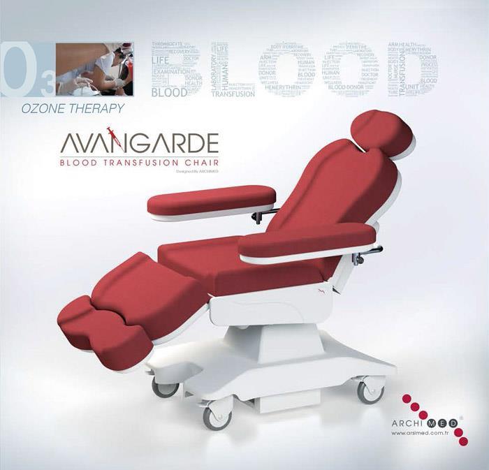 Avangarde Kan Alma Koltuğu