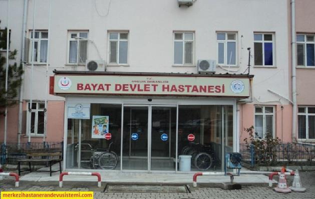 Bayat Devlet Hastanesi